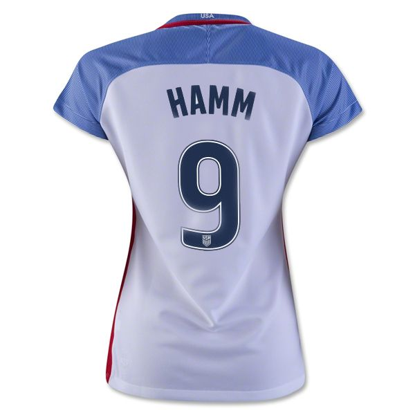 Welcome to the Soccer Shop. Buy Mia Hamm authentic, replica jersey, shorts  shirts, The new look and feel of this jersey keeps your game day gear light  and ...