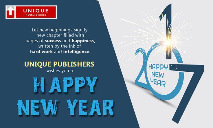 Happy New Year-2017 ..!!  #UniquePublishers #upscexam #iasexambook  #newyear2017