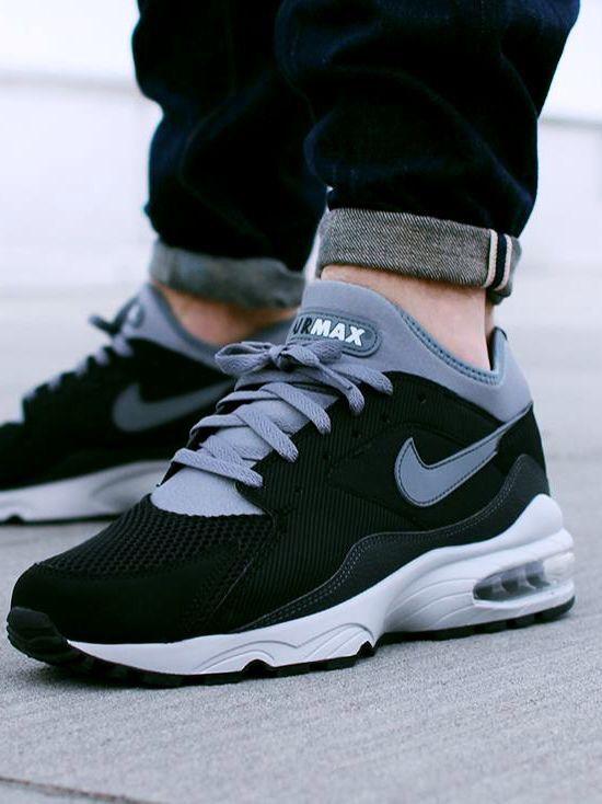 Nike Air Max 93: Black/Grey