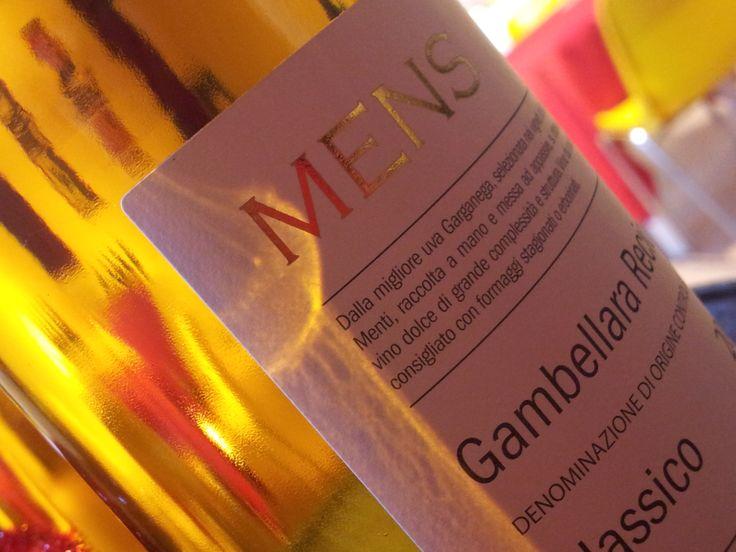 MENS Recioto di Gambellara Doc 2007 Menti Vini. Great sweet wine. www.mentivini.it