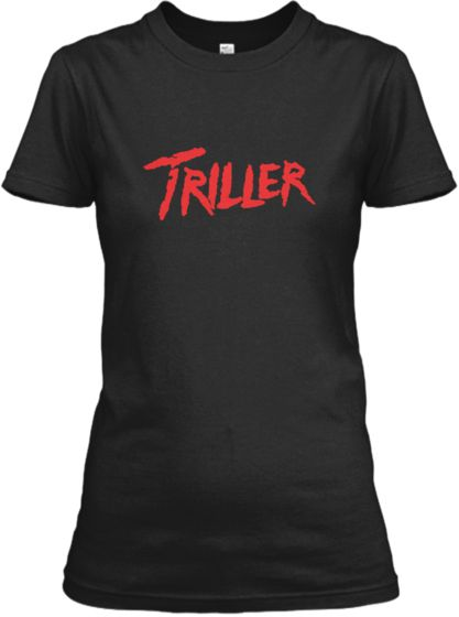 Triller T-shirts to support The Melker Project! The Michael Jackson Triller EP from Scott drops tomorrow. Get ready to download 5 sick songs and in the meantime, go buy one of these trill shirts!
