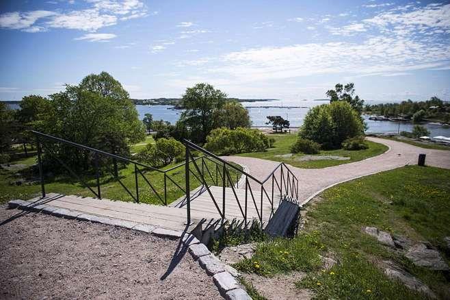 Tähtitorninmäki in Helsinki, Finland.