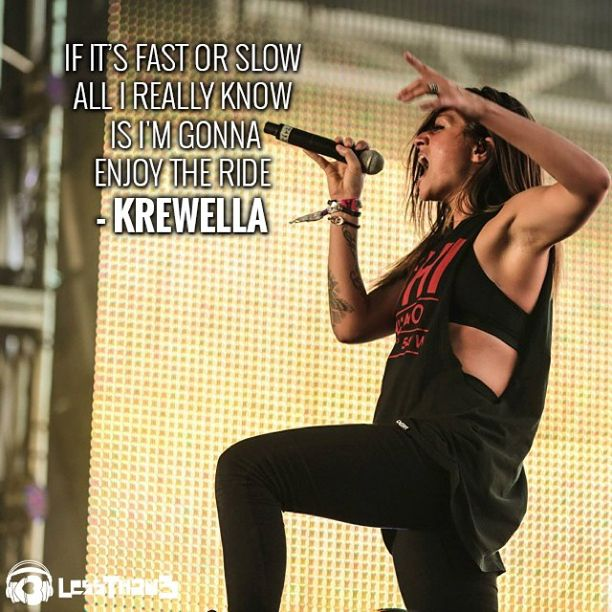 Jahan of #Krewella singing her heart out
