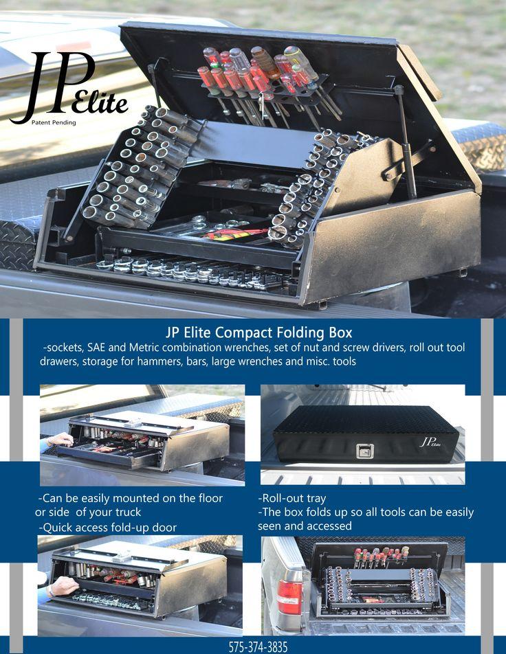Shopnbox JP Elite mobile tool storage Truck tools, Truck