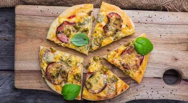 Pizza nach dem Sport? In der Low-Carb-Variante wird das Lieblingsessen zum gesunden After-Workout-Fatburner - Thinkstock