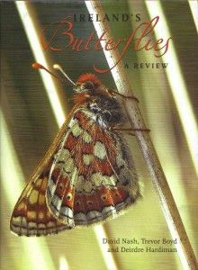 """""""Ireland's Butterflies: A Review"""" is a really great book highlighting everything you ever wanted to know about Ireland's butterflies -- their biology, ecology, distribution and species profiles.The photographs throughout are simply amazing. Definitely worth a look!"""