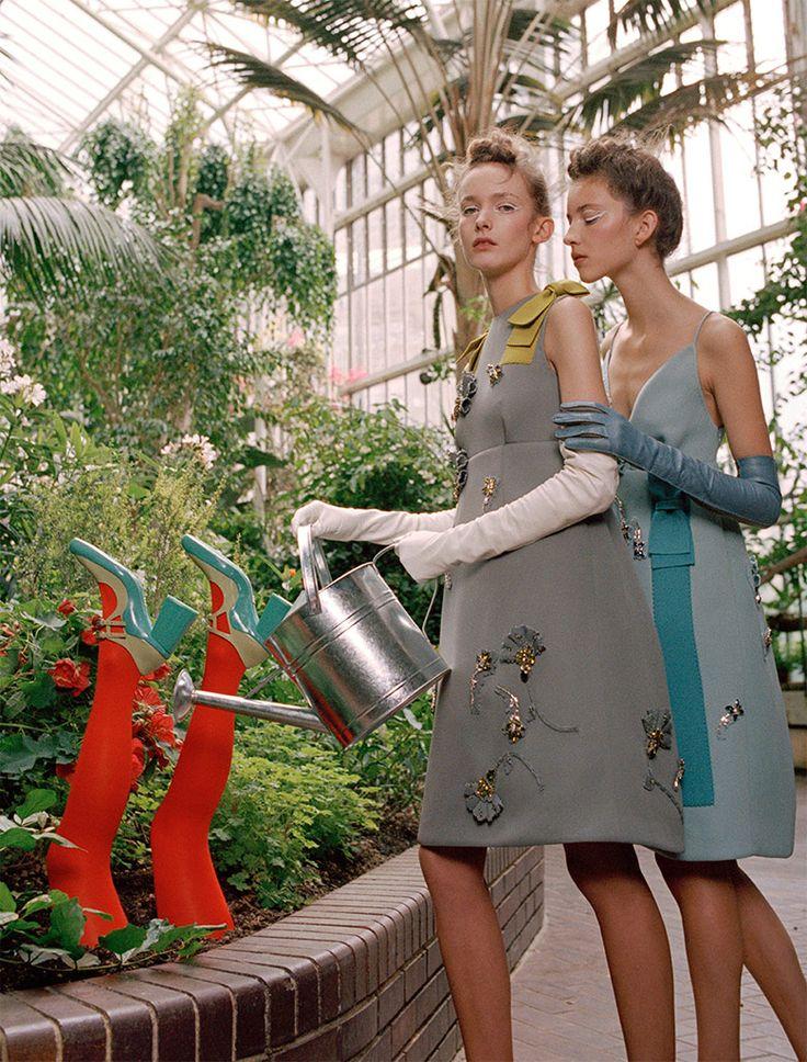 Shanna Jackway, Clementine Deraedt, Eliza Thomas for Numero October 2015 | The Fashionography