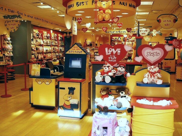 The Build A Bear My Cousin Took Me There For 30th Birthday And