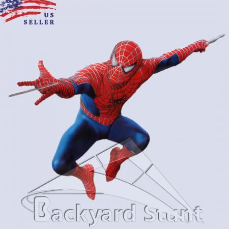 BIG Spider Man Wall Sticker Decal 33X55CM Decor Boys Room Decor Marvel USA  LG155 Part 58