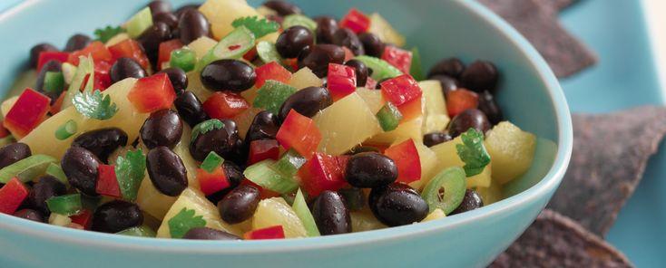 Bush's® Black Bean Salsa with Pineapple