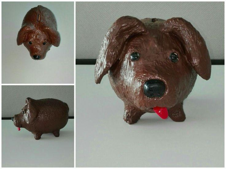 Alcancia perro labrador  https://www.facebook.com/kochicr/