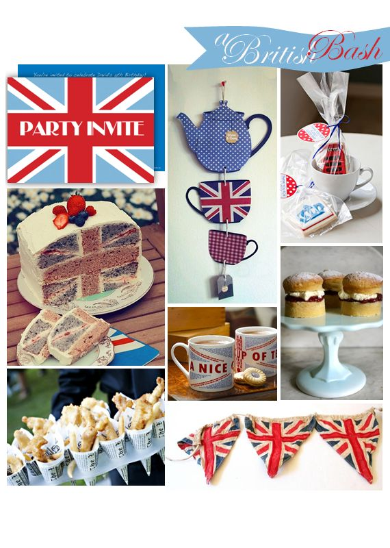 British Party Decorations | ... co uk british tea party handmade hanging decoration from etsy shop