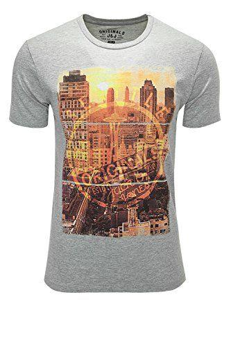 Jack & Jones Originals T-Shirt Kurzarmshirt Print-Shirt (…