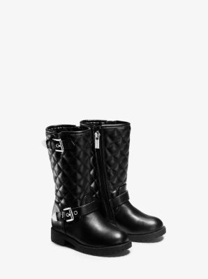 Girl's Dhalia Quilted Boot, Toddler