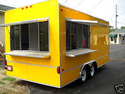 2013 New 8 5 X 18 Concession Trailer Loaded With Equipment