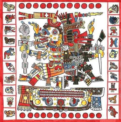 Loquefuimos: Ehécatl, dios del viento y Mictlantecuhtli, dios...