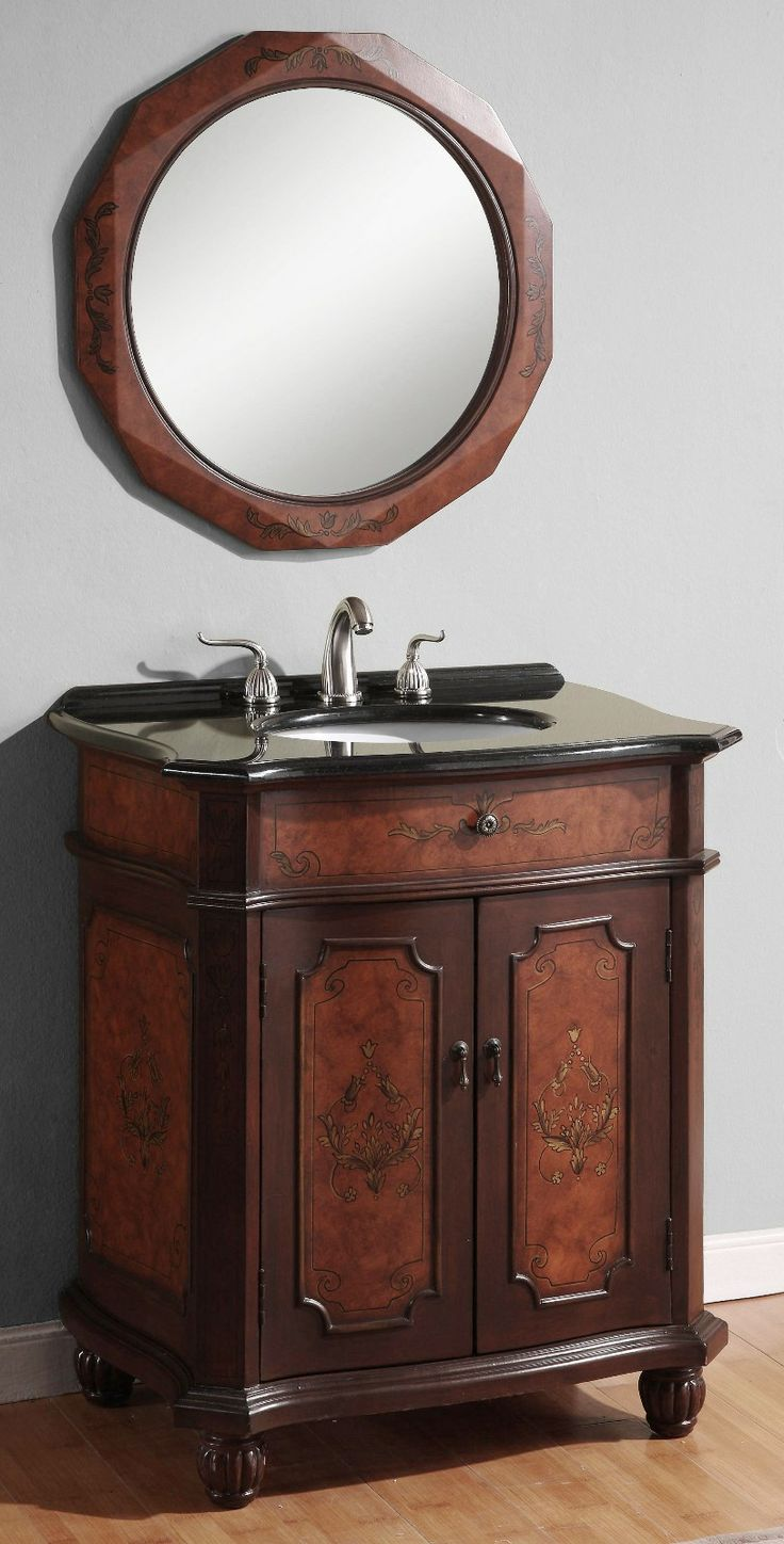 30 Vintage Bathroom Vanity 143 best single sink bath vanities images on pinterest | bath