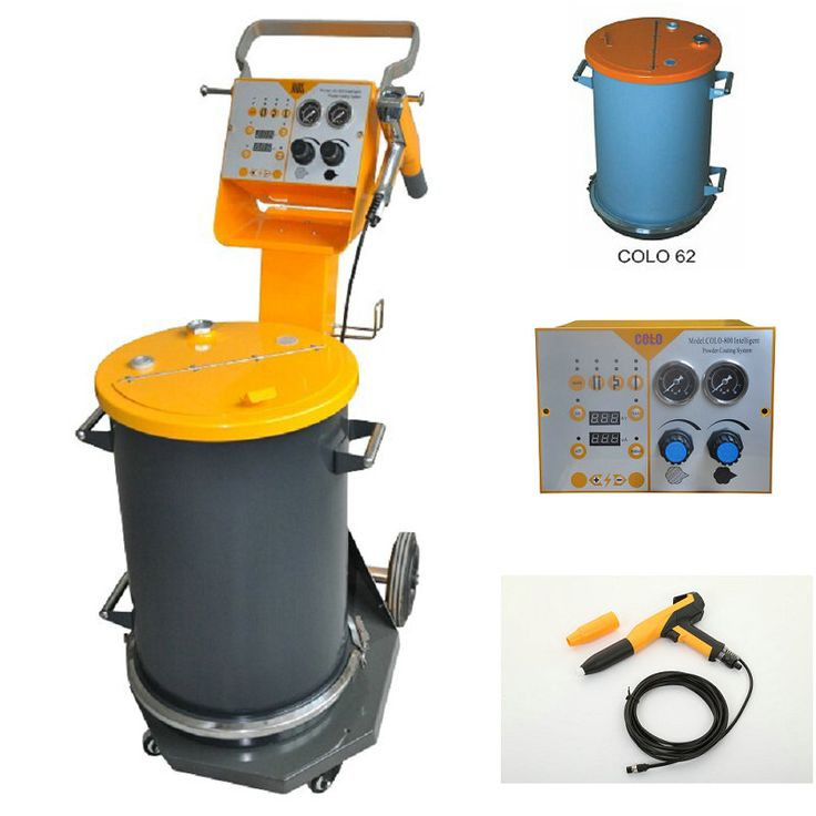 New Powder coating machine, Powder coating Set - COLO powder coating machine