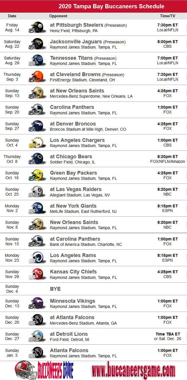 Pin By Nfl Championship On Nfl Schedule In 2020 Tampa Bay Buccaneers Tampa Bay Buccaneers Football Buccaneers Football