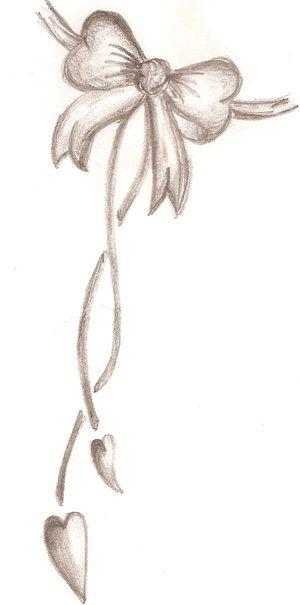 ribbon bow tattoos | Final Bow Tattoo Design By Cupcake Lakaijpg
