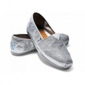 Simli Toms (Gümüş)