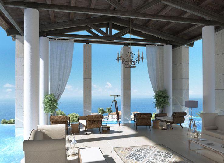 GREECE CHANNEL | Beautiful Entrance To The Romanos Hotel At Costa Navarino  Resort, Greece