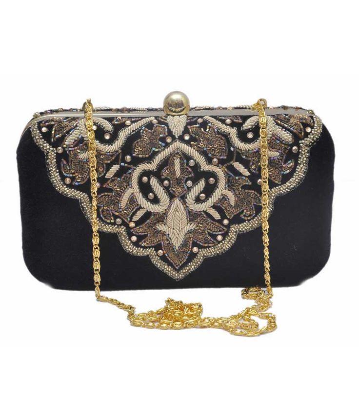 Maheswari Handicraft Gold Women Designer Hand Bag, http://www.snapdeal.com/product/maheswari-handicraft-gold-women-designer/1053088140