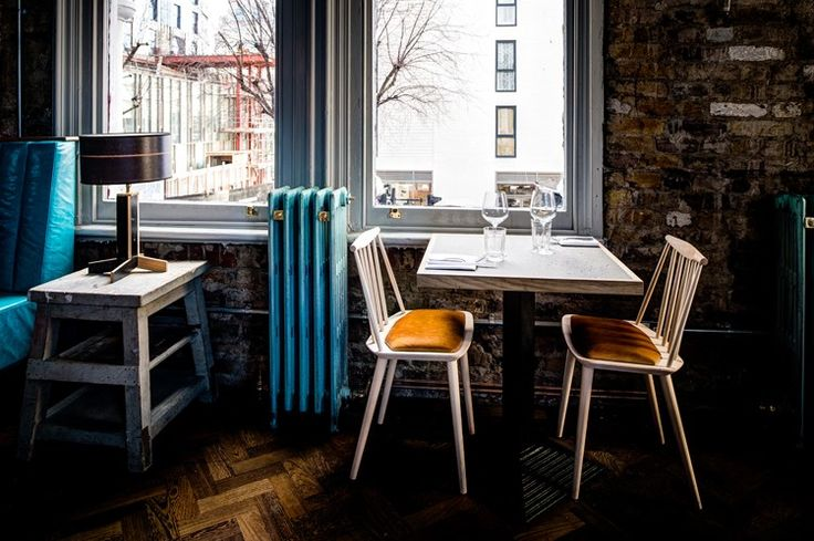 The newly opened kitchen on the first floor of The Culpeper, Spitalfields, has eccentric and quirky design details.