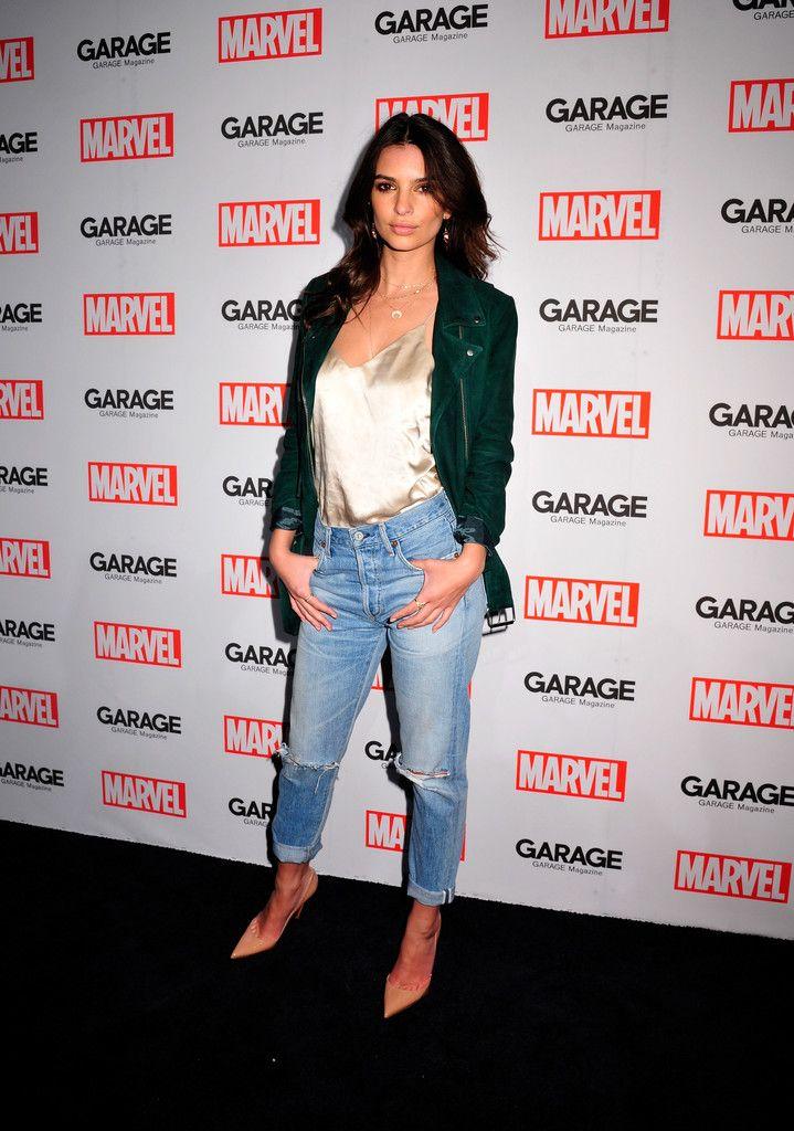 Emily Ratajkowski Photos - Marvel and Garage Magazine New York Fashion Week Event - Zimbio