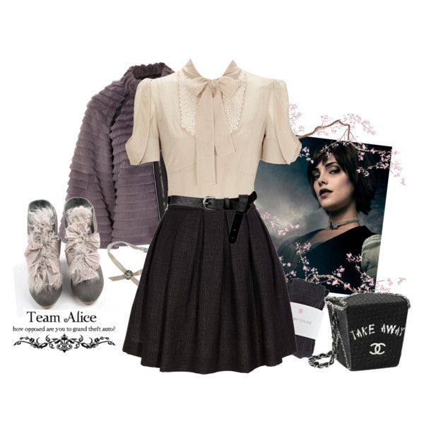 """Alice Cullen, Fall"" by mariiiiie on Polyvore  love this dress so much might have already pinned"