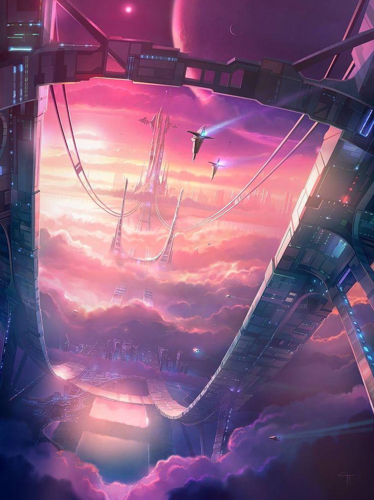 Space city.