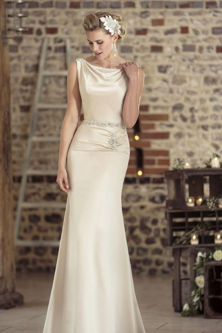 Contemporary Wedding Dresses and Vintage Inspired Bridal Gowns | W238 | True Bride