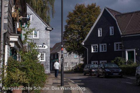 Historischer Ortskern Leichlingen // Der Obstweg in Leichlingen. Oder: Warum die Blütenstadt 'Blütenstadt' heißt. http://ausgelatschte-schuhe.de/bergischer-streifzug-obstweg/