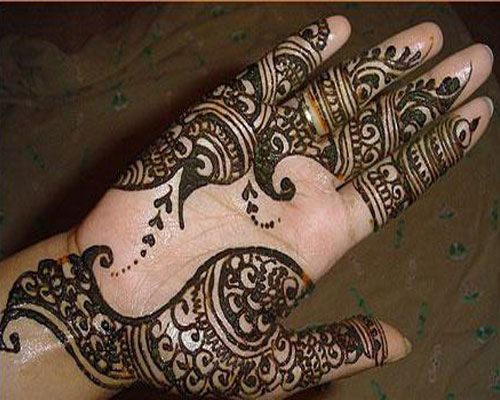 Mehndi Patterns We Heart It : When we talk about the simple arabic mehndi designs for