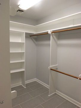 Incredible Small Walk-in Closet Ideas & Makeovers | Small Walk in #Closet Ideas and Organizer #Design #ApexWoodworking