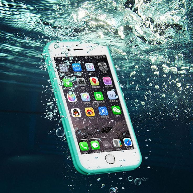 Waterproof Dustproof iPhone 5s 6 6s Plus Case Beach Holiday Cover Free Shipping
