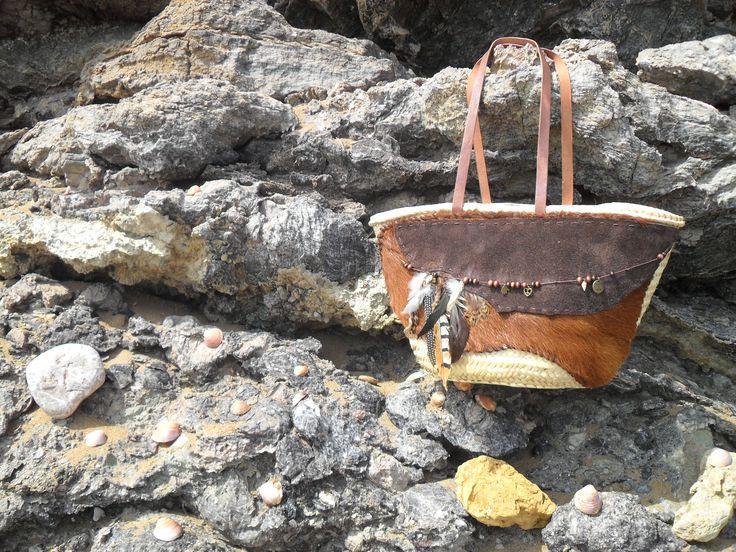 Boho shopping / beach bag Ibiza Vibe