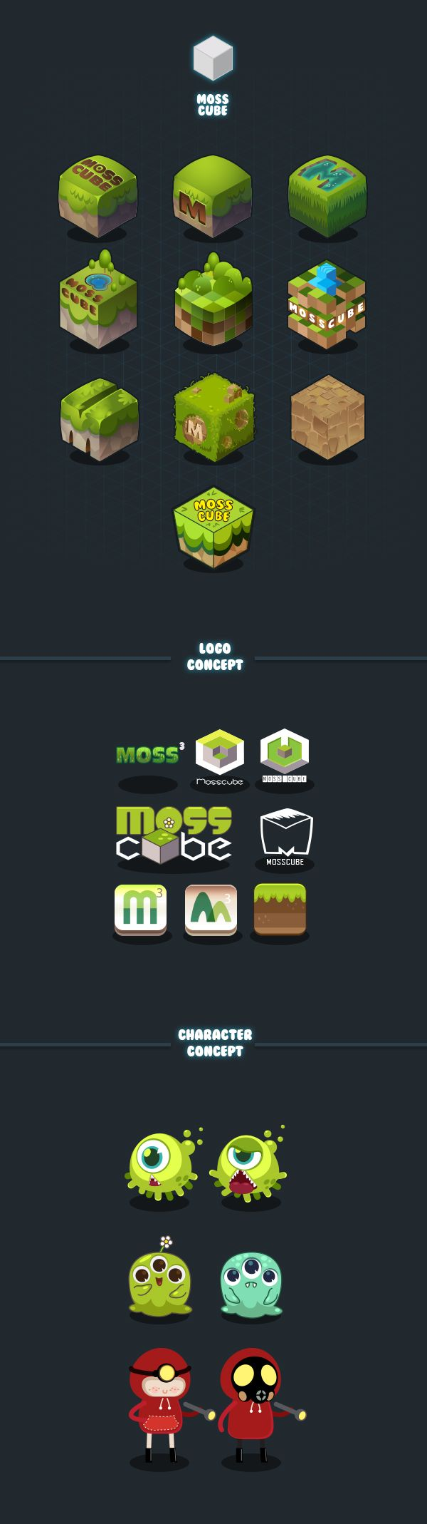 Mosscube Concepts on Behance