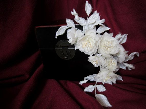 FREE SHIPPING Silk wedding bridal flower rose by AuthenticBlends