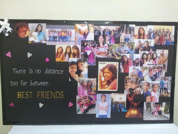 Best 20 Best Friend Picture Frames Ideas On Pinterest: Picture Collage Board