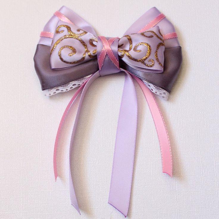 rapunzel tangled inspired bow