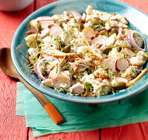 25 beste idee n over koude kip salades op pinterest koude pasta recepten gezonde koude - Zoals mediterrane ...