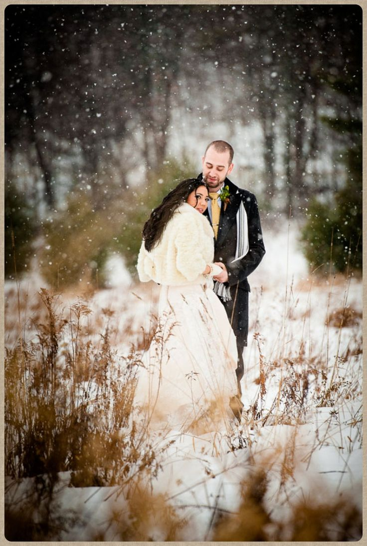Bracebridge winter wedding