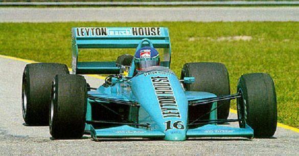 1987 GP Brazylii (Ivan Capelli) March 87P - Ford