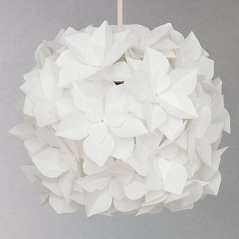 Buy John Lewis Lotus Flower Pendant Shade Online at johnlewis.com