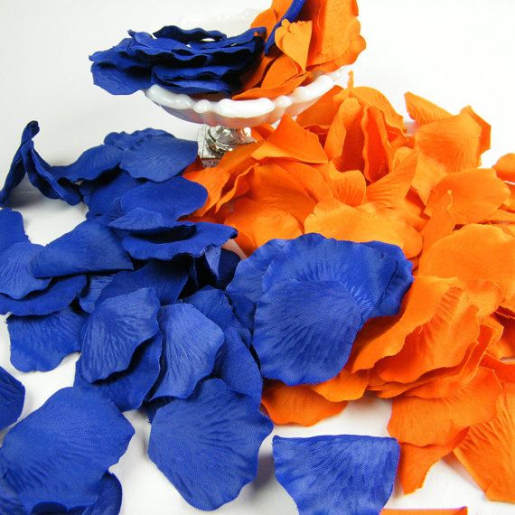 Hey, I found this really awesome Etsy listing at https://www.etsy.com/listing/254245827/200-orange-and-royal-cobalt-blue