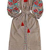 """Одежда ручной работы. Ярмарка Мастеров - ручная работа Длинное платье """"Утренняя Дымка"""". Handmade."""