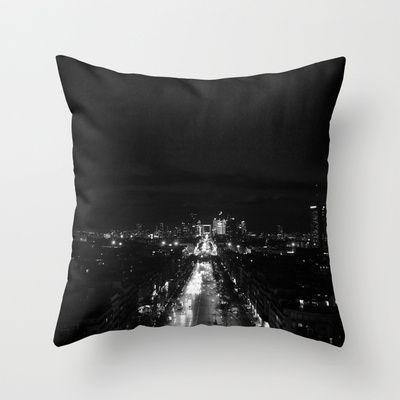 Esperantos   Paris, France   StoryScape #2 Throw Pillow