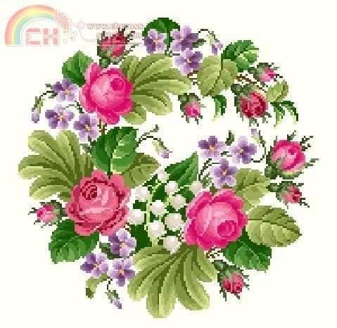 [Novo] Roses Wreath -