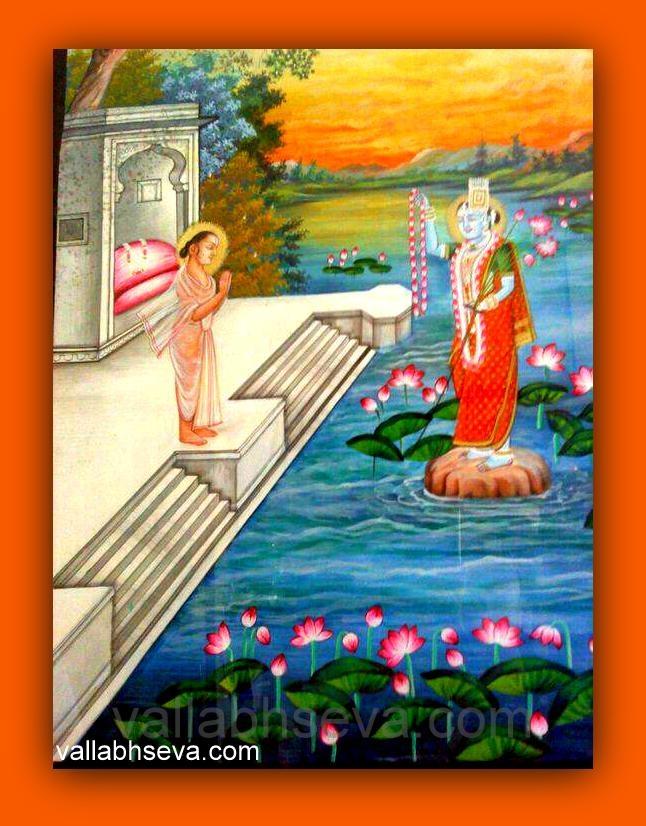 Shrinathji, Vallabhacharya, Yamunaji, Pushtimarg, Shriji